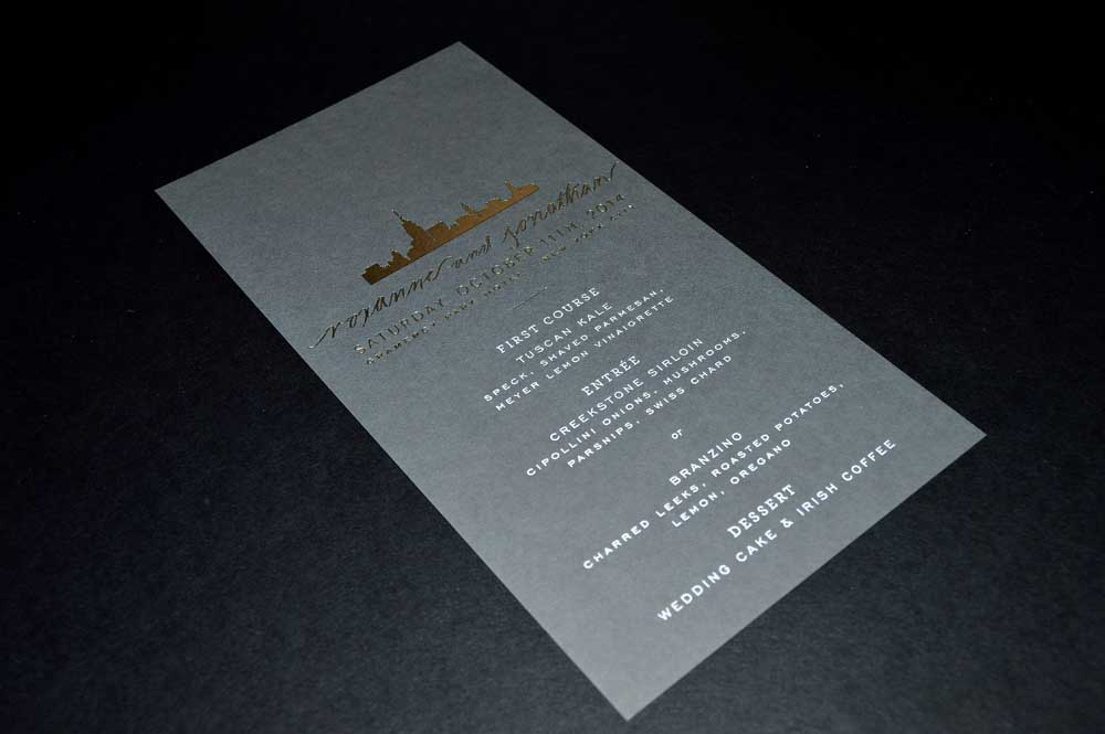 Foil Stamping | AccuColor Plus, Inc.