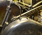 Craftsman letterpress drive gear detail.