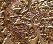 Copper foil die stamping die