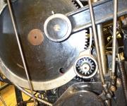 Letterpress drive gear.