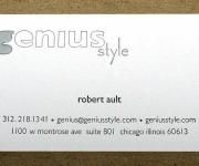 Genius Style Emboss