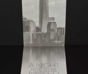 Offset printed corporate invitation at the new World Trade Center